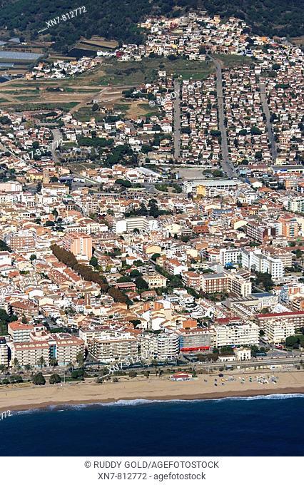 Spain, Catalonia, Barcelona, El Maresme, Pineda de Mar