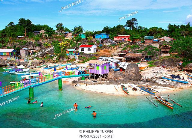 Philippinas, Cebu Island. Gibitngil funtastic island in medellin cebu