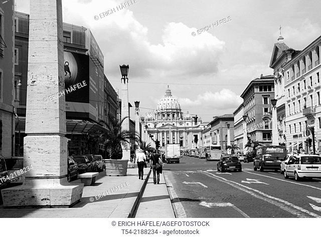 Via della Conciliazione in Rome