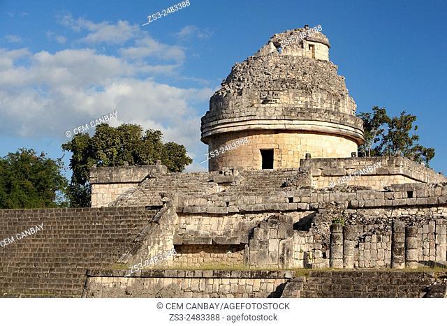 El Caracol in Chichen Itza Ruins, Chichen Itza, Yucatan Province, Mexico, Central America