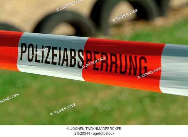 Crime scene, do not cross