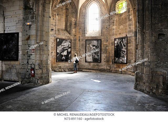 Exhibition of Peter Lindberg's photos, Arles, Bouches-du-Rhône, France