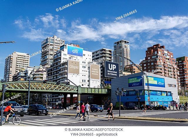 Avenida Libertador, Palermo, Buenos Aires, Argentina