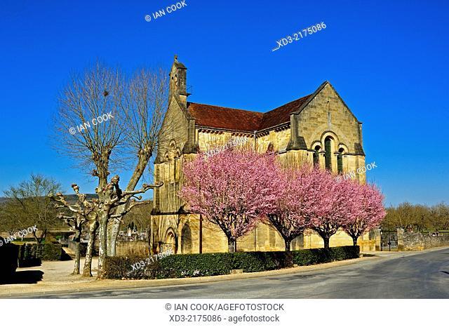 Eglise de Cenac, Cenac, Dordogne Department, Aquitaine, France