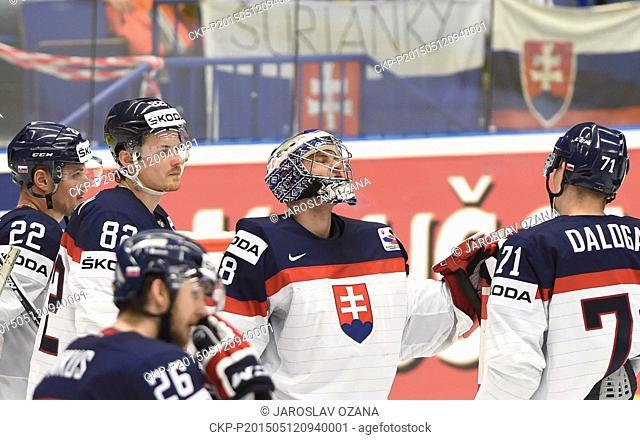 Memorabilia Fahne Banner 2015 Ice Hockey World Championship Czech Republic Prag Ostarva # 27