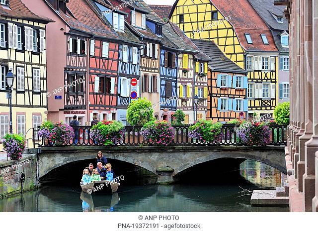 Petite Venise, Colmar, Haut-Rhin, Alsace, France, Europe