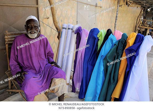 Vendor, Djenne, Mali