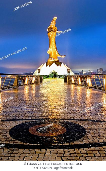Kun Iam statua and Ecumenical Centre  Is an ecumenical centre where information is available on Buddhism, Taoism and Confucianism,Macau,China