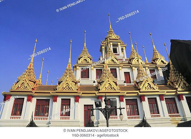 Loha Prasat, Bangkok, Thailand