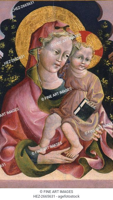 Virgin and Child with Book, 15th century