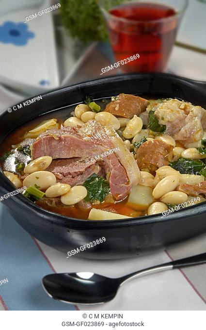 Asturian pote type of stew