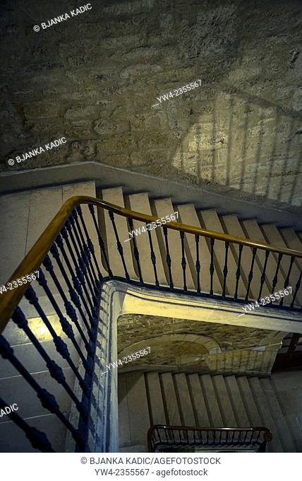 Interior stairs, Montpellier, France