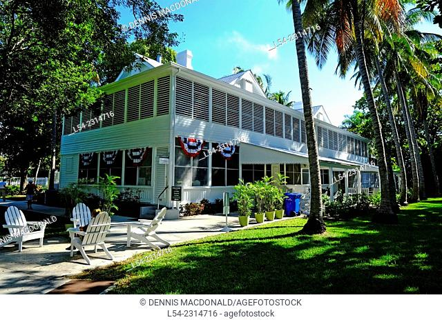 Little White House President Harry Truman Key West Florida FL destination for Western Caribbean Cruise from Tampa