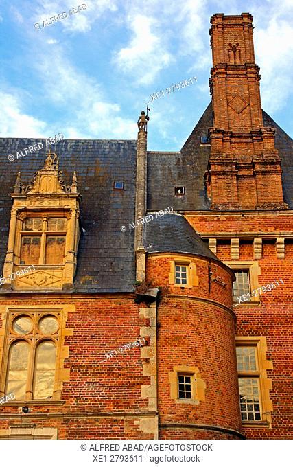 Renaissance Castle, St Amand en Puisaye, France