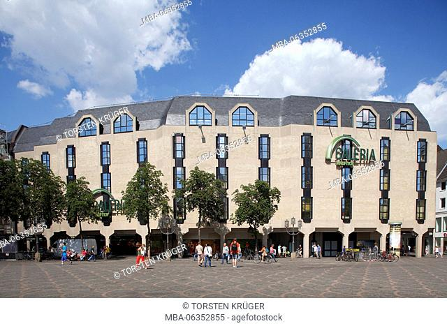 Department store of Galeria Kaufhof, cathedral square, Bonn, North Rhine-Westphalia, Germany, Europe