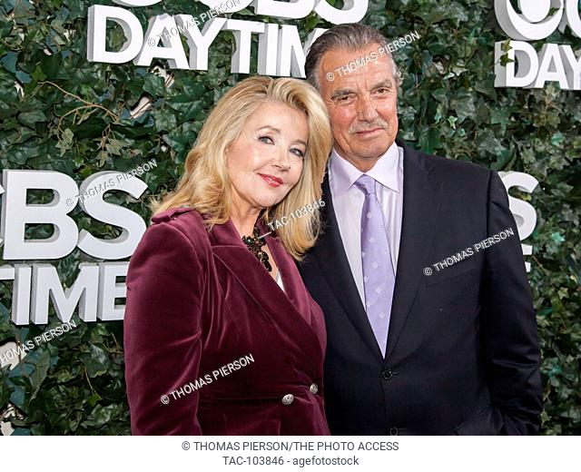 Eric Braeden and Melody Thomas Scott attend the CBS Daytime 30 Years At #1 Exhibit at the Paley Center for Media on October 16, 2016 in Beverly Hills