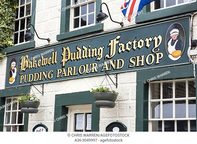 Bakewell Pudding Factory Bakewell Derbyshire England