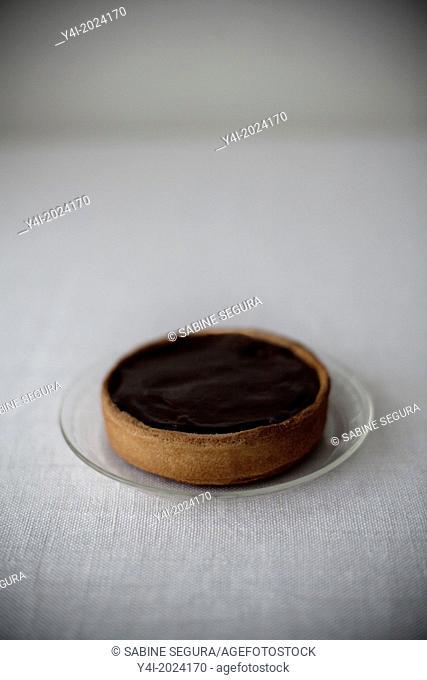 Chocolate pie recipe. Little pie