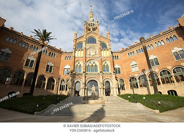 Hospital de Sant Pau, Barcelona, Catalonia, Spain