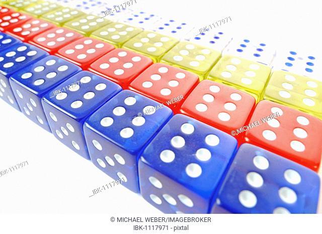 Dice, symbolic for gambling