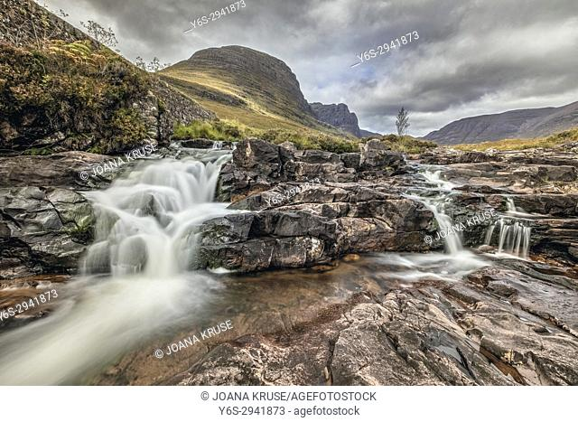 Russell Burn, Applecross, Bealach na Ba, Highlands, Scotland, United Kingdom