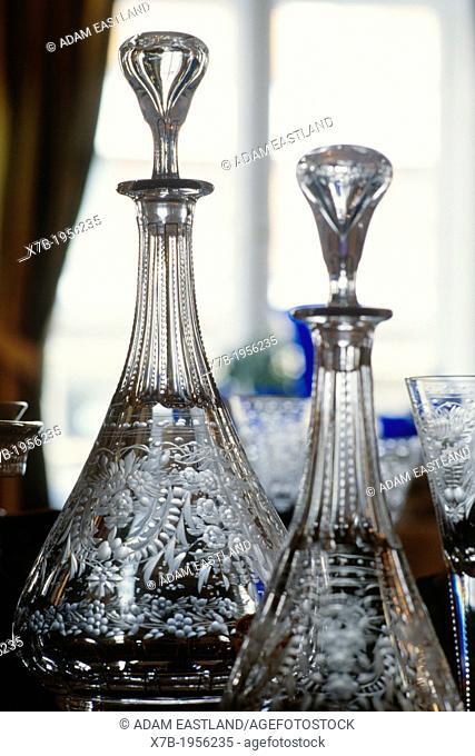 Prague. Czech Republic. Moser Crystal glass shop