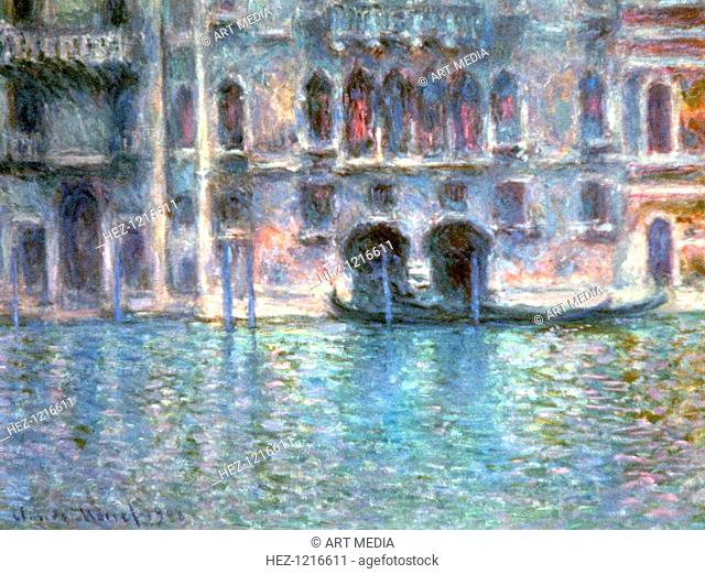 'Venice, Palazzo Da Mula', 1908. Located in the collection of the National Gallery, Washington, USA
