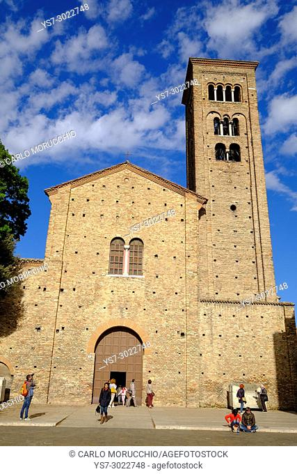 Basilica of San Francesco, Ravenna, Italy, Europe