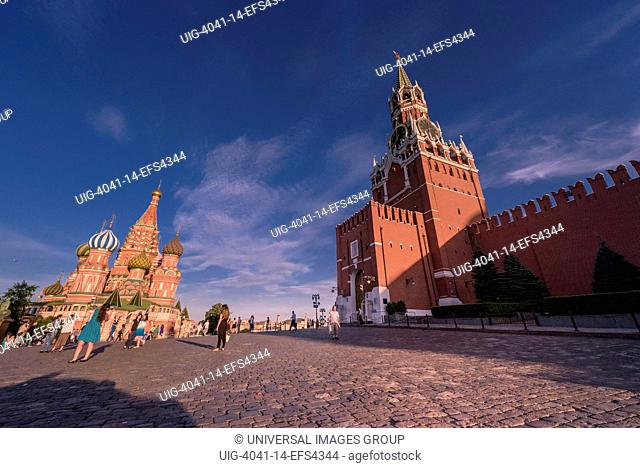 Red Square view, Moscow