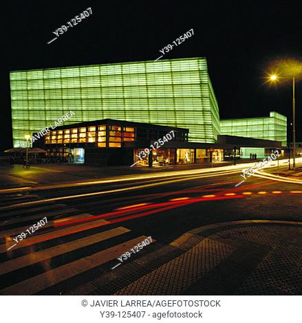 Kursaal Center, by Rafael Moneo. San Sebastián. Spain