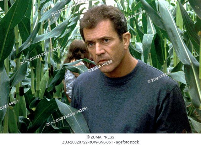Jul 29, 2002; London, England, UK; Actor MEL GIBSON star as Rev.Graham Hess in 'Signs.'  (Credit Image: © Courtesy of Touchstone Pictures/Entertainment...