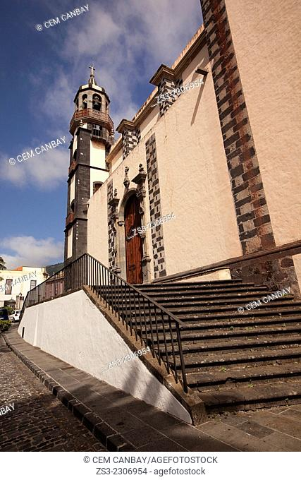 Concepcion Cathedral in La Orotava, Tenerife Island, Canary Islands, Spain, Europe