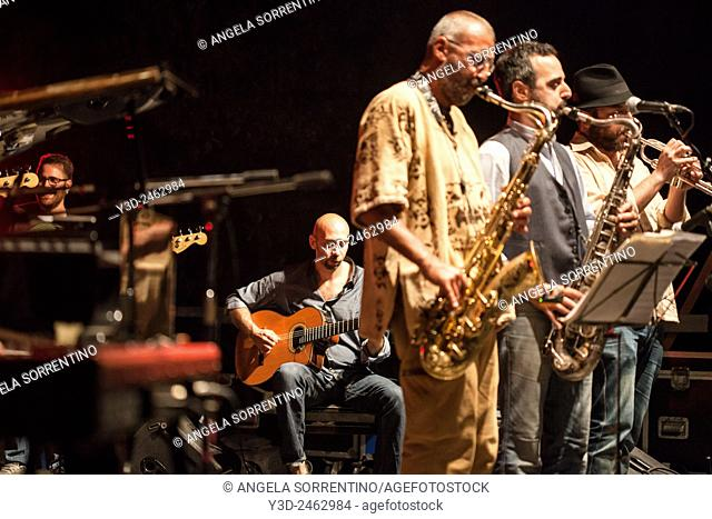 Daniele sepe and Kefaya Group at Pozzuoli Jazz Festival, Italy