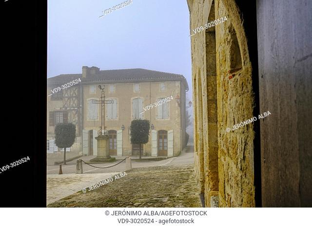 Chateau de Cassaigne. Armagnac producer region. Le Gers, Gascony, Midi Pyerenees. France Europe