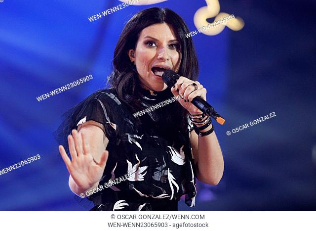 'Por ellas' Concert at the Barclaycard Center - Arrivals and Performances Featuring: Laura Pausini Where: Madrid, Spain When: 25 Oct 2015 Credit: Oscar...