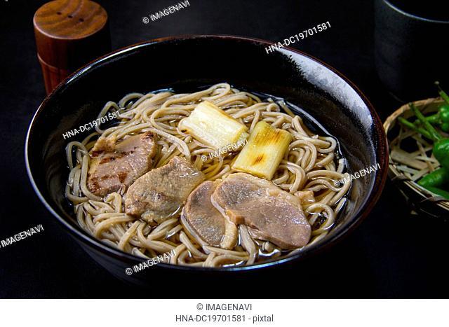 Kamo nanban (Soba with duck meat)