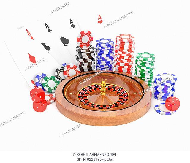 Gambling, illustration