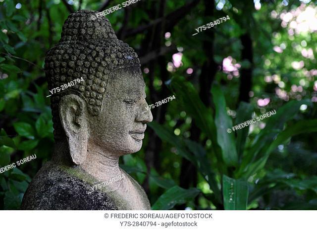 Buddha statue at the Royal Palace,Phnom Penh,Cambodia,Indochina,Southeast Asia,Asia
