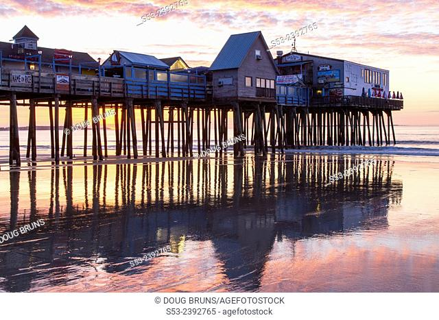 Sunrise, Old Orchard Beach, Maine, USA