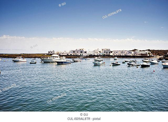 Marina, Lanzarote, Spain