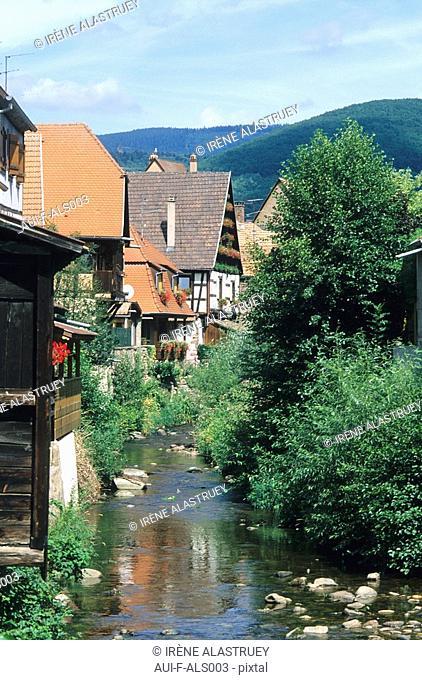 France - Alsace - Route des vins - Kaysersberg
