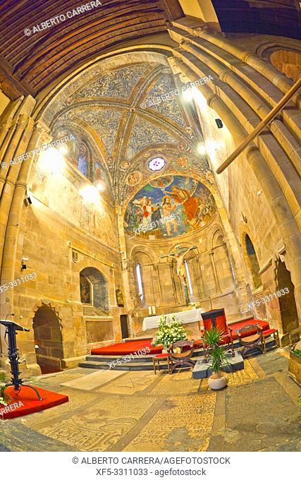 Church of San Juan del Mercado, 12-13th Century Romanesque Style, Benavente, Zamora, Castilla y León, Spain, Europe