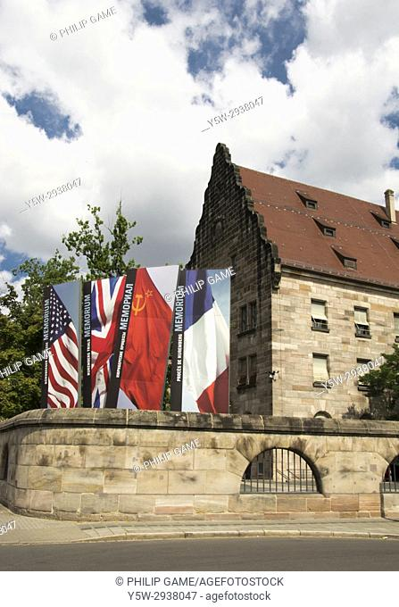 Nuremberg Palace of Justice, the venue for the post-War criminal trials of Nazi leaders