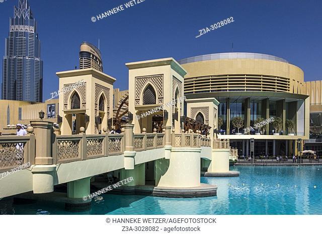 Exterior of the Dubai Mall, Dubai