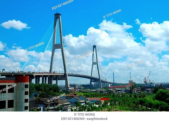 Xupu bridge, Shanghai