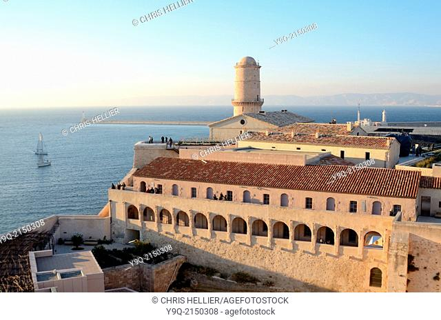 Fort Saint Jean Marseille Provence France