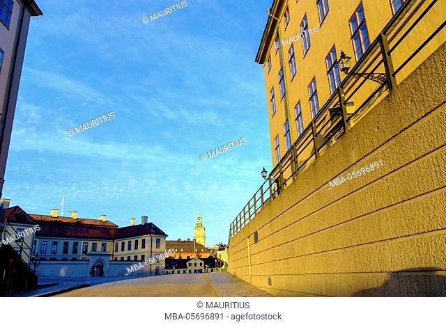 Gamla Stan district, old town, Stockholm, Sweden