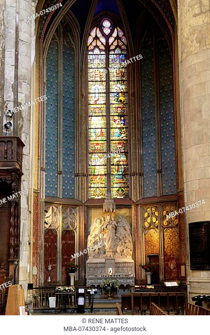 France, Haute Garonne, Toulouse, place Saint Etienne, Saint Etienne Cathedral, chapel