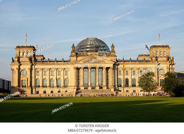 Reichstag building, Berlin, Germany, Europe