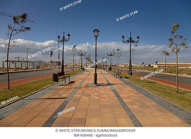 New urban development in Los Alcazares, Murcia Region, Spain, Europe